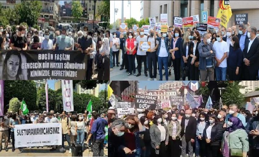 81 İLDE DENİZ POYRAZ'IN KATLEDİLMESİ PROTESTO EDİLDİ
