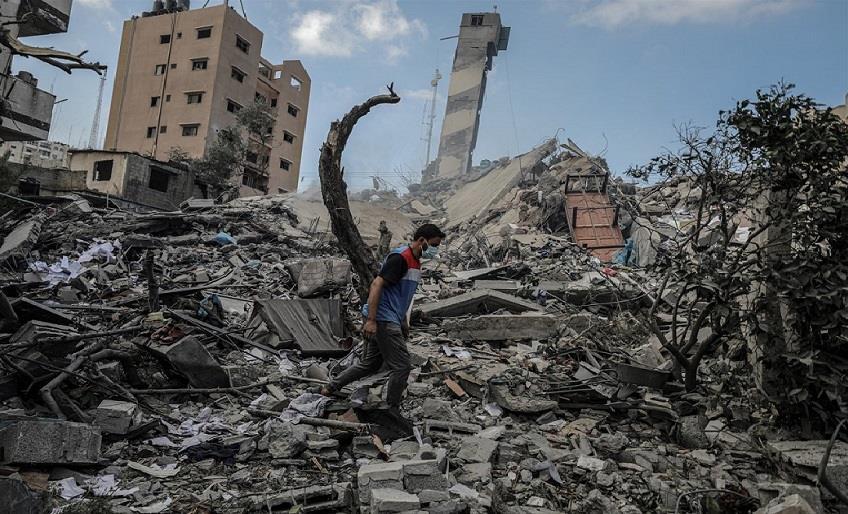 BM SÖZCÜSÜ LAERKE: GAZZE'DE 52 BİNDEN FAZLA KİŞİ YERİNDEN EDİLDİ